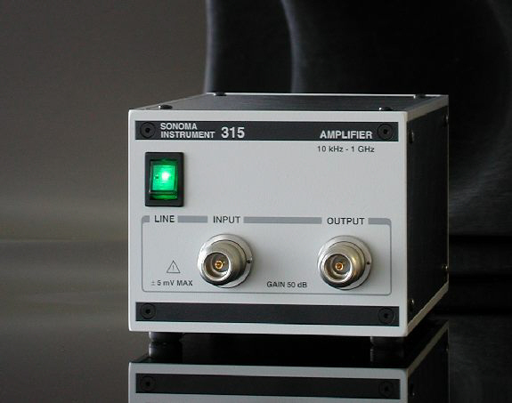 Sonoma Instrument 315 high gain, low noise amplifier